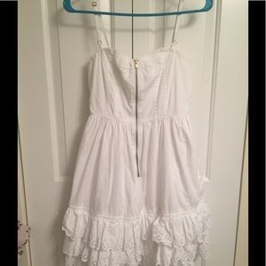 Tracy Feith for Target  White ruffled sundress